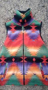 Ralph Lauren Chaps Sport Aztec Fleece Vest